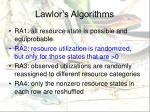 lawlor s algorithms3