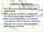 lawlor s algorithms4