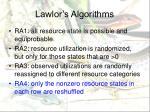 lawlor s algorithms5