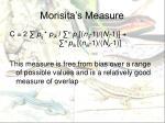 morisita s measure