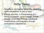 niche theory3