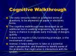 cognitive walkthrough1