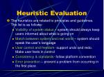 heuristic evaluation1