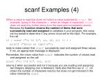 scanf examples 4