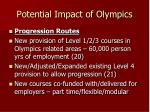 potential impact of olympics3