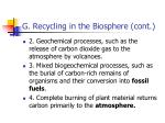 g recycling in the biosphere cont4