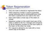 token regeneration