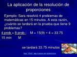 la aplicaci n de la resoluci n de proporciones1