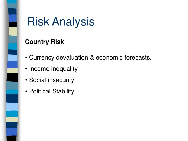 country risk analyisis