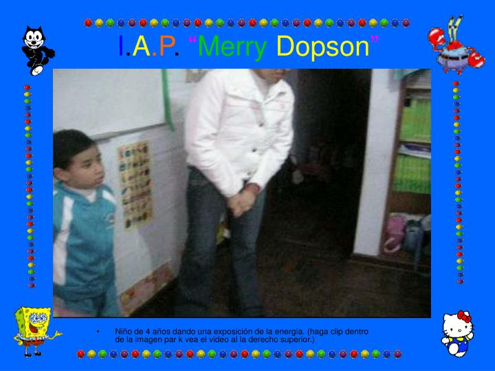 i a p merry dopson n.