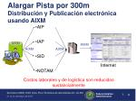 alargar pista por 300m distribuci n y publicaci n electr nica usando aixm