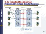 2 la virtualizaci n a d a de hoy virtualizaci n de host disaster recovery