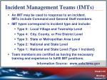 incident management teams imts