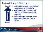 incident typing overview