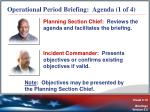 operational period briefing agenda 1 of 4