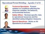 operational period briefing agenda 3 of 4