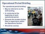 operational period briefing
