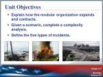 unit objectives1