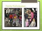 family participation