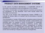 p roduct data management systems