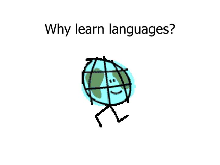 why learn languages n.