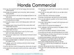 honda commercial