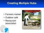 creating multiple hubs