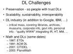 dl challenges
