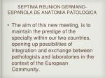 septima reunion germano espa ola de anatomia patologica