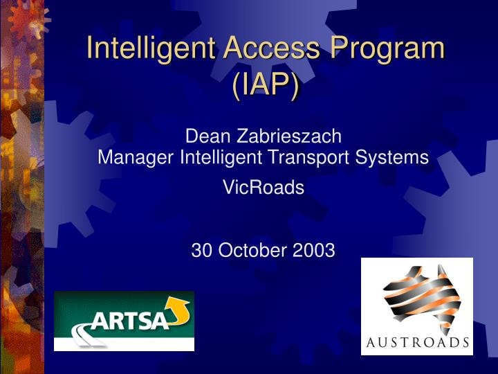 intelligent access program iap n.