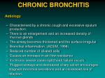 chronic bronchitis1