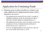 application for continuing funds2
