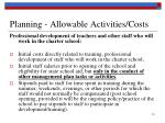 planning allowable activities costs2