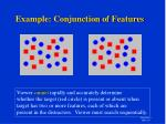example conjunction of features