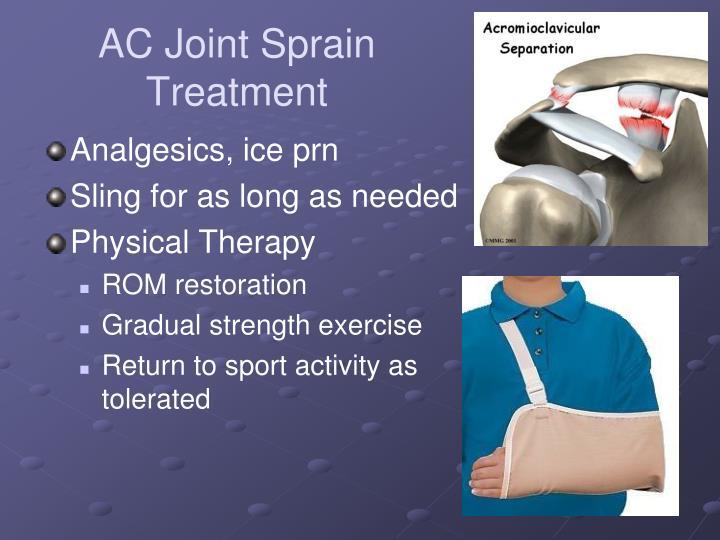 AC Joint Sprain Treatment
