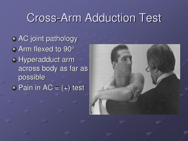 Cross-Arm Adduction Test