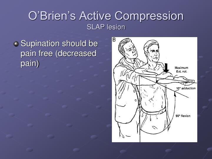 O'Brien's Active Compression