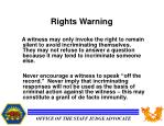 rights warning