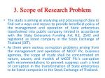 3 scope of research problem