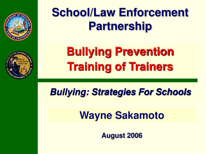 school law enforcement partnership n.