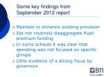 some key findings from september 2012 report1