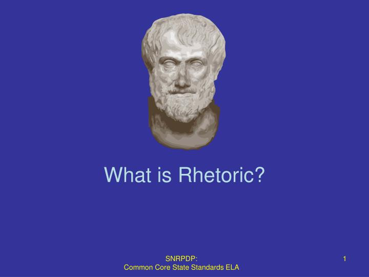 what is rhetoric n.