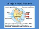 change in population size1