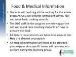 food medical information