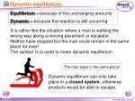 dynamic equilibrium2