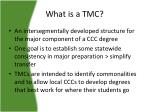 what is a tmc