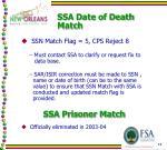 ssa date of death match