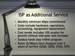 isp as additional service