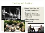 the play and the film