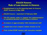 eulex kosovo rule of law mission in kosovo